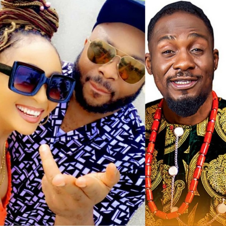 """""""This is not something to be proud of"""" – Actor, Junior Pope slams Rosy Meurer over marriage to Olakunle Churchill"""