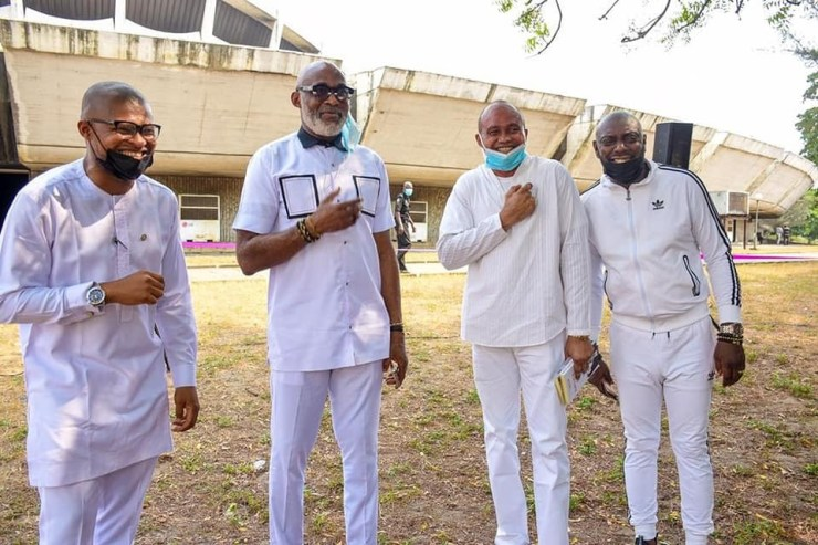 Photos from the night of tribute for late Chico Ejiro