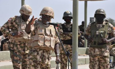 Insurgency: Commander tasks troops on gallantry, discipline