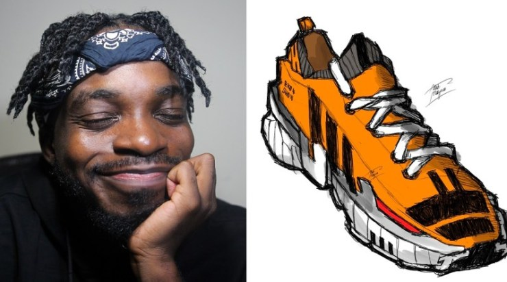 Nigerian Man Who Designed A 'Danfo-Themed' Sneakers gets the chance to work with Adidaas