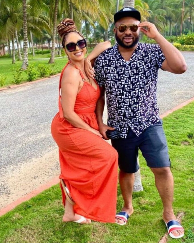Actress, Rosy Meurer shares first photo with her new-born son
