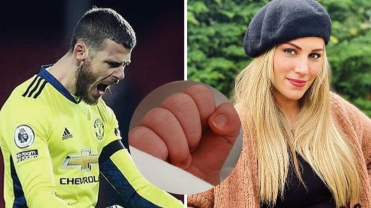 Manchester United goalkeeper, David de Gea announces birth of his first child, a baby girl