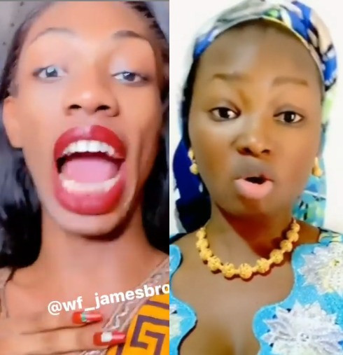 Cross dresser, James Brown reacts to Jaruma's claim that cross dressers are the cause of high divorce rate in Nigeria