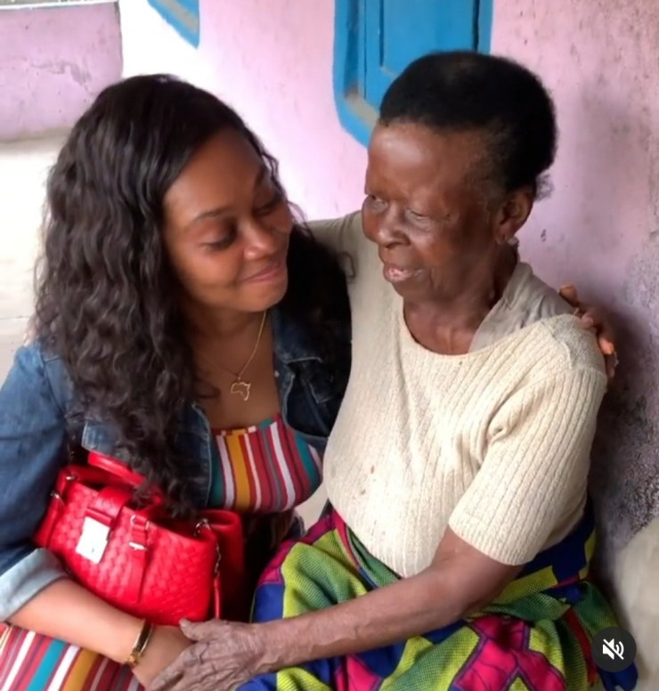 Tana Adelana mourns as she loses her grandmother