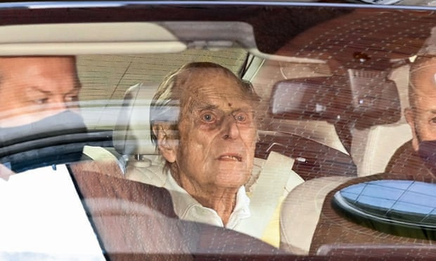 Queen Elizabeth's husband, Prince Philip leaves hospital after a month