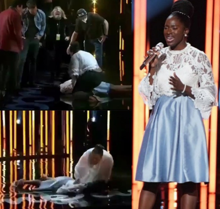 """""""I am more than my fall"""" Nigeria's Funke Lagoke speaks after collapsing on American Idol stage while receiving judges' feedback (video)"""