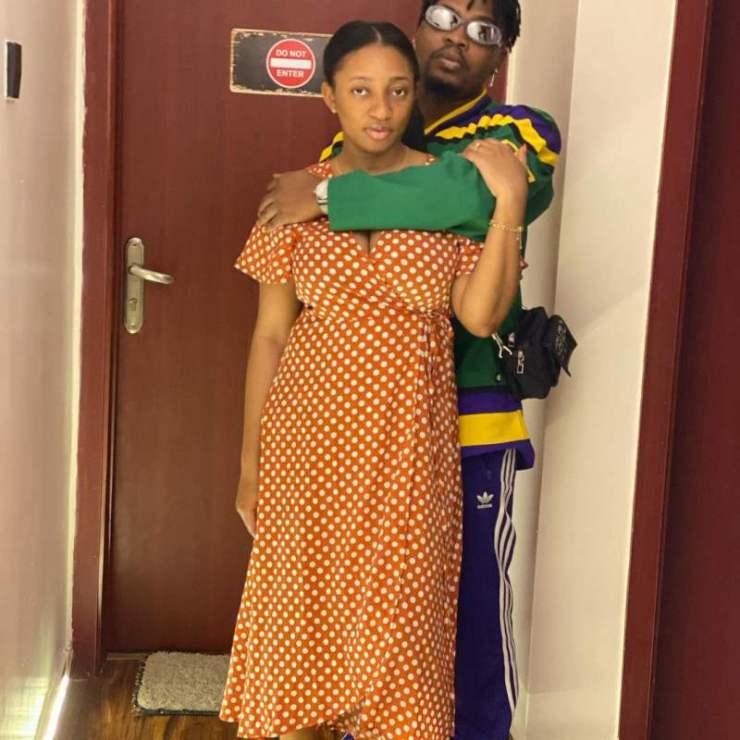 """My amazing support system"" – Olamide's fiancée, Adebukunmi celebrates him on his birthday today"