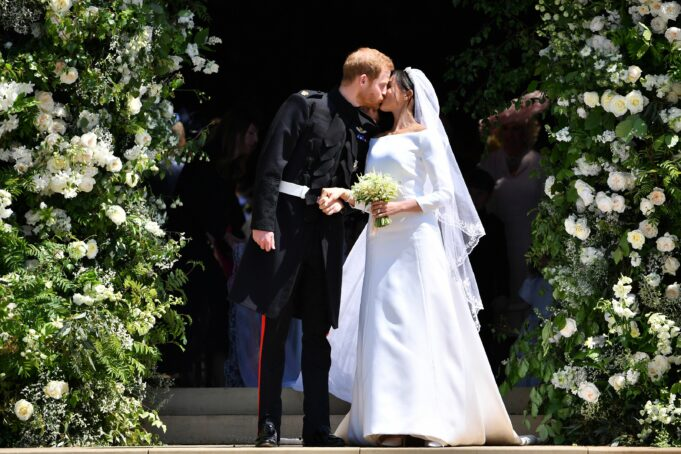How Prince Harry and his wife, Meghan got married secretly, days before the royal wedding (video)