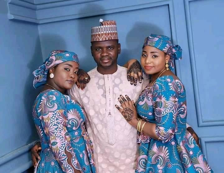 Everything I receive is double -- Man flaunts two wives he married same day