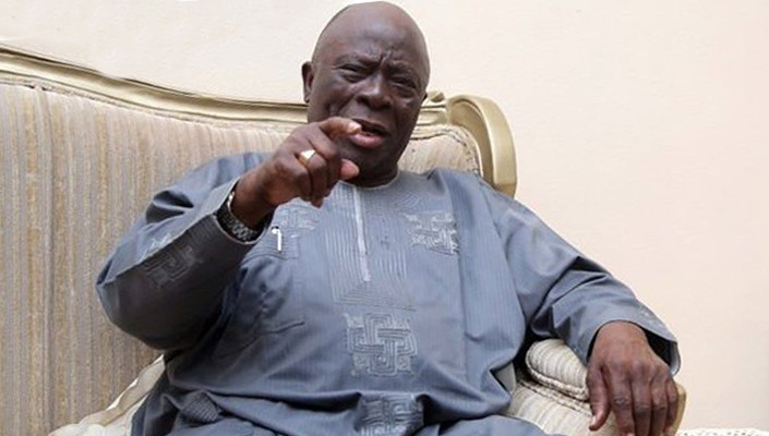 Buhari has a hidden agenda for rejecting calls for restructuring, he is encouraging secession - Afenifere leader, Ayo Adebanjo