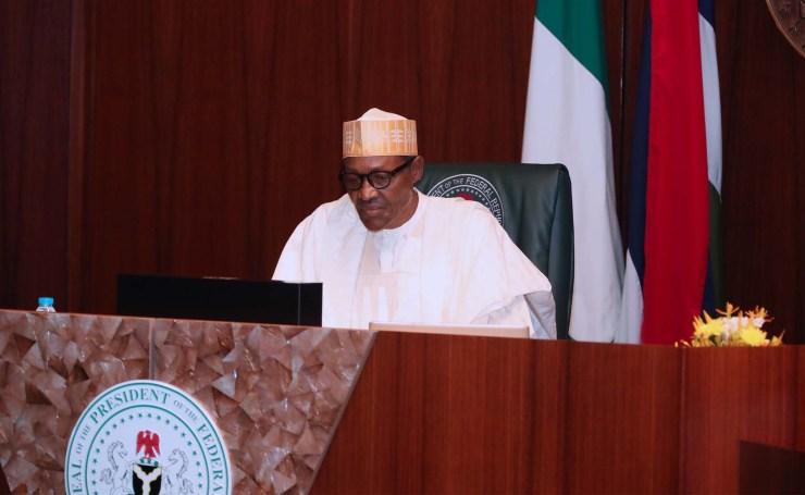 President Buhari presents 2022 budget to NASS Thursday