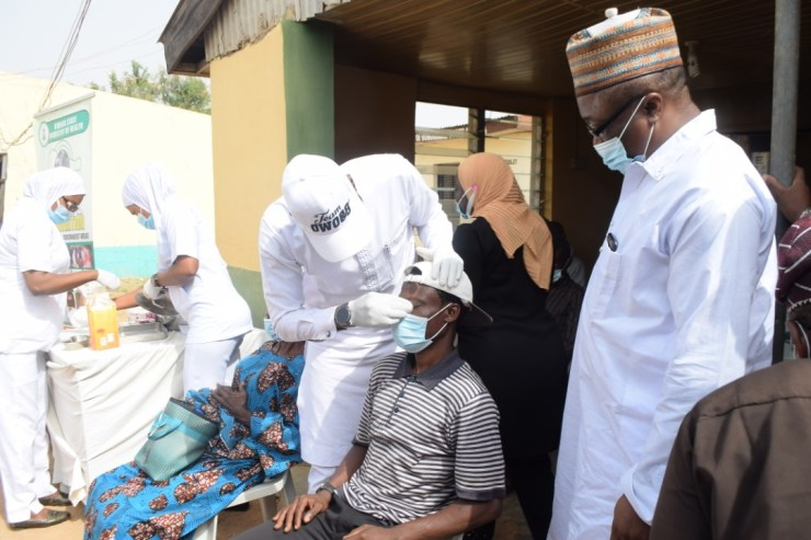 Beneficiaries hail Kwara govt for funding free eye surgeries