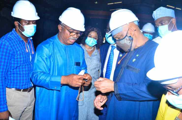 I'm highly impressed by KAM CEO, Kamoru Yusuf's industrial drives--- DG SON