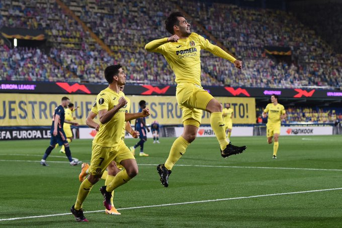 Villarreal gain narrow edge in chaotic win over Arsenal