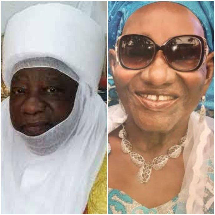 Emir of Ilorin celebrates with Kwara Gov's mum at 91