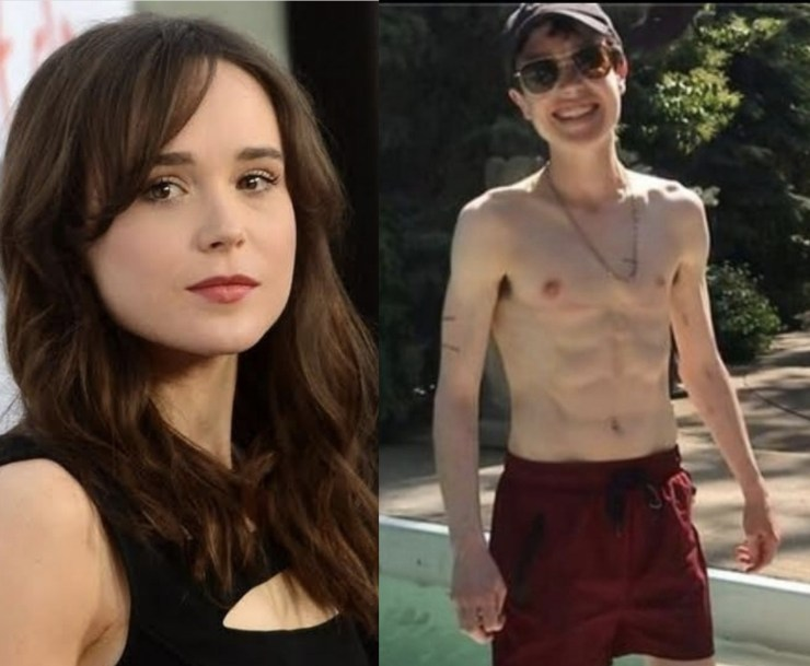 New photo of Juno star, Elliot Page formerly known as Ellen Page