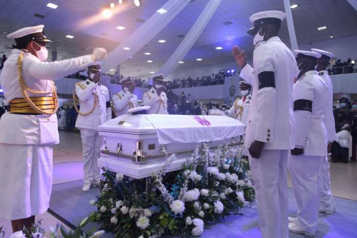 Breaking: Remains of Dare Adeboye laid to rest (VIDEO)