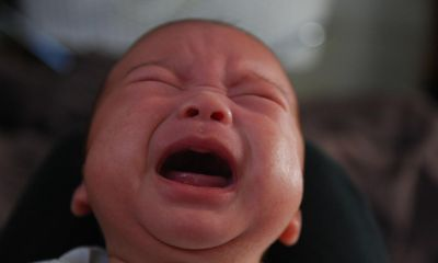 Paediatrician explains why some babies cry at night
