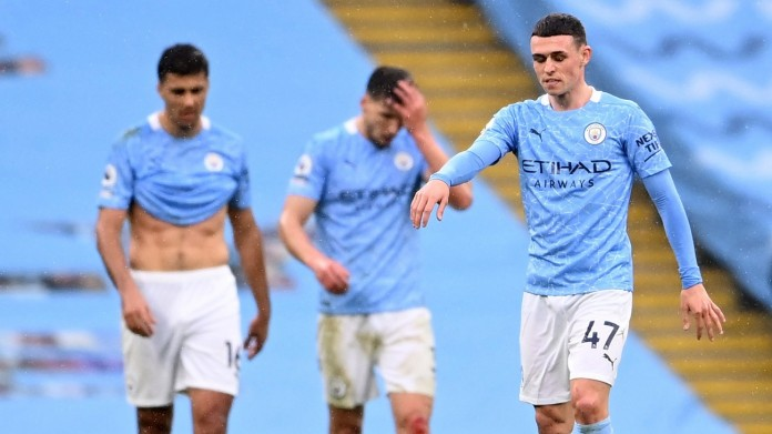 Manchester City made to wait for title after losing at home to Chelsea