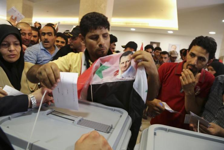 Presidential election begins in Syria