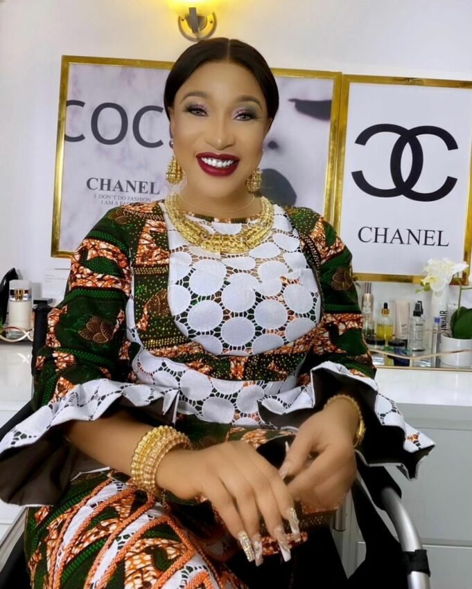 """""""Keep resting Ma'am… I am grateful for the love you wanted to give me"""" – Tonto Dikeh eulogizes late beauty-Queen, Ibidun Ituah-Ighodalo"""