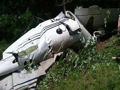 Three killed in plane crash in eastern DR Congo
