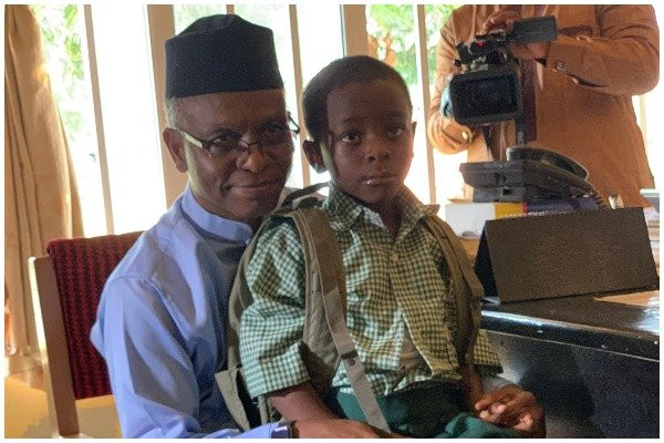 I withdrew my son from a public school because bandits were targeting him - Gov El-Rufai