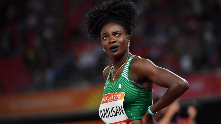 Amusan wins women's 100m hurdles heat to qualify for semi-finals