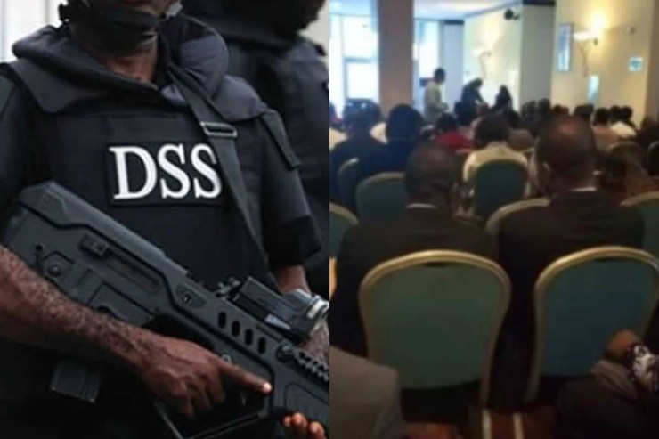 DSS denies dispersing doctors and arresting a journalist at Saudi Arabia's recruitment exercise in Abuja