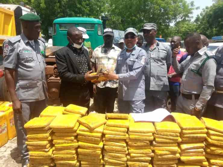Insecurity: NCS Seizes Drugs Used By Bandits