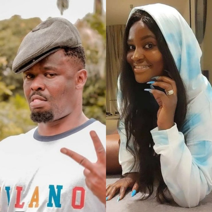 """Chizzy Alichi infantilizes Zubby Michael after he insulted her during argument over a woman being the """"King of Boys"""""""