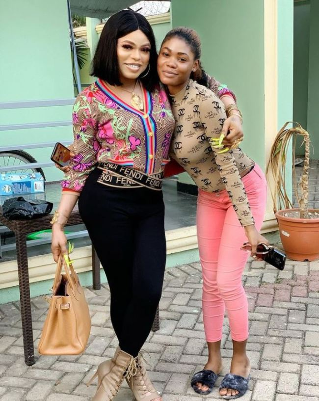 Bobrisky's former PA, Oye, announces she's pregnant, asks Nigerians to guess the father
