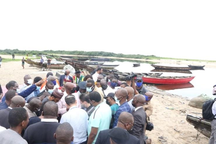 Amaechi inspects proposed site for Bonny Deep Seaport as construction commences soon