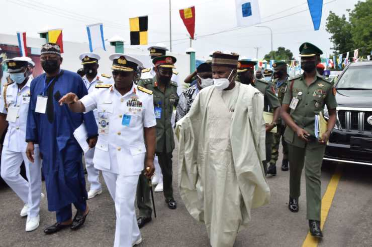 Nigerian Navy 2021 CONSAC ends as Buhari renews commitment to maritime security