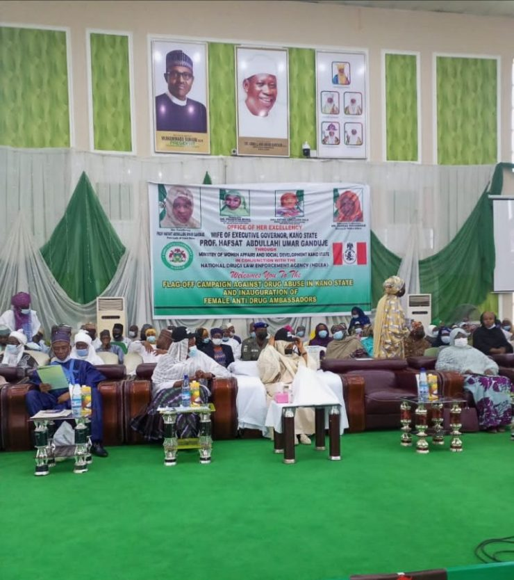 Kano Gov's wife flags off campaign against drug abuse
