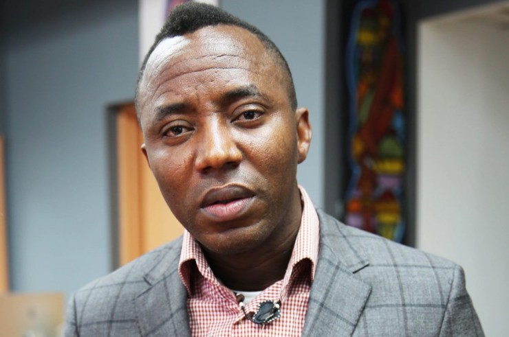 Police trying to shake my family down - Sowore alleges