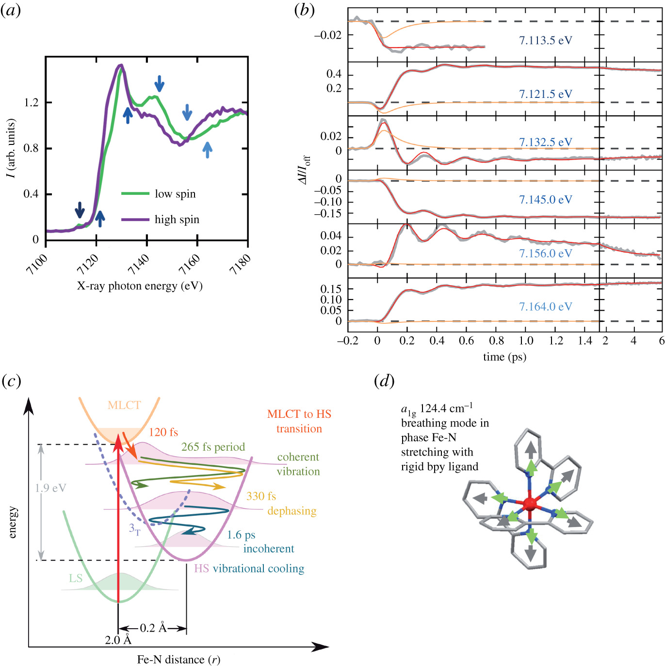 Chemical Interactions And Dynamics With Femtosecond X Ray