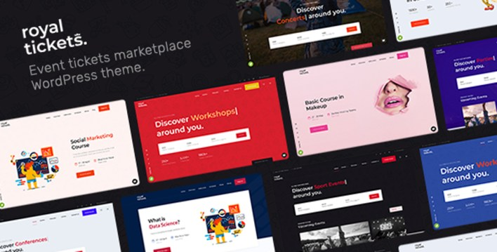 RoyalTickets - Events Booking WordPress Theme