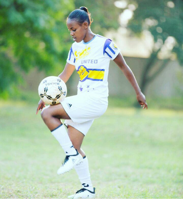 First Time Representing Kenya At The Female World Cup Tournament