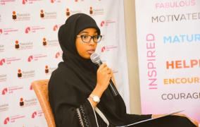 Meet Umulkheir Mohamed - Ms President Contestant on KTN