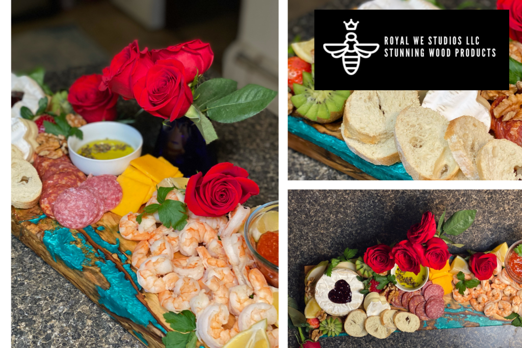 Valentine's Day Charcuterie Board by Royal We Studios