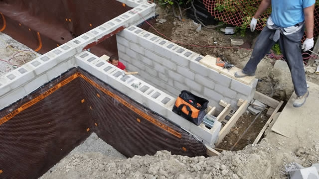 Concrete Floors Basement Walk Outs Toronto Royal Work Corp   Exterior Basement Entrance Stairs   Garage   Victorian Era   Stone Wall   Access   Finished