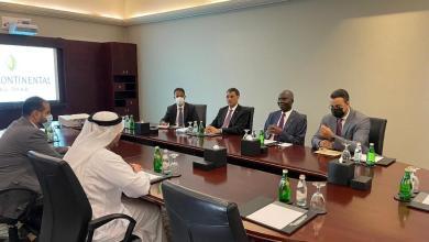 صورة شركة الاستثمارات الاماراتية تالك تبدي رغبتها في الاستثمار بموريتانيا