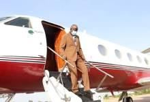 صورة وزير الداخلية يصل گيديماغا في مستهل زيارة لعدة ولايات