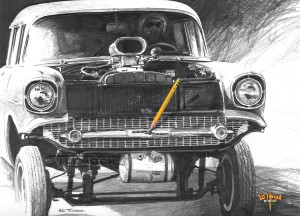 57 Gasser Drawing w pencil