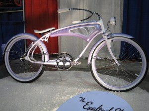 Custom fabricated and painted bicycle by Corey Conyers.