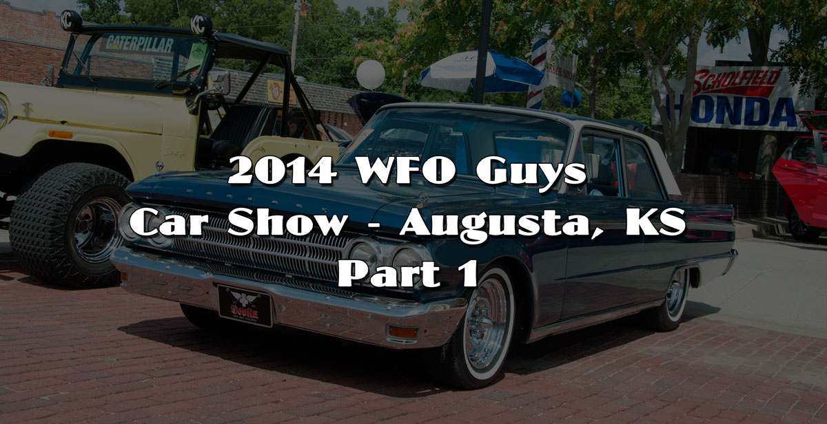 Its About Time I Attended The WFO Guys Show In Augusta - Augusta car show