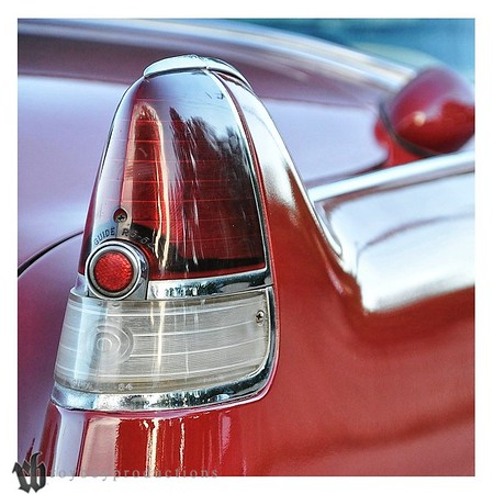 54 Caddy taillight
