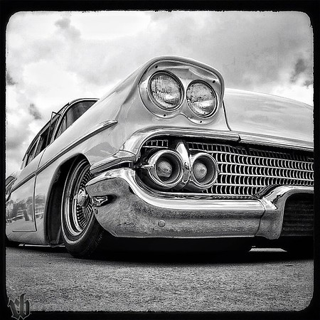 58 Chevy, laid out, wires, Lonestar Roundup