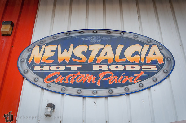 The day after Thanksgiving I went up to Fort Collins, CO to check out Newstalgia Custom Paint.